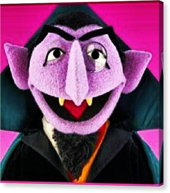 Kids Canvas Print - Rip.count Von Count by Radiofreebronx Rox