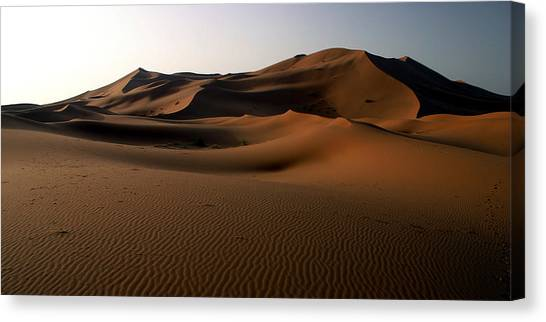 Ripples In The Sand Canvas Print by PIXELS  XPOSED Ralph A Ledergerber Photography