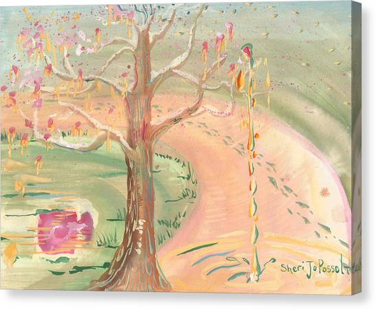 Ripples Of Spring Canvas Print
