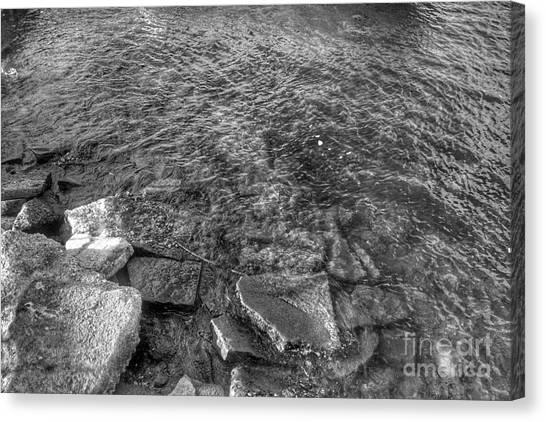 Ripples On Lake Champlain Canvas Print