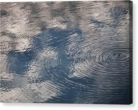 Ripples Canvas Print by Richard Stephen