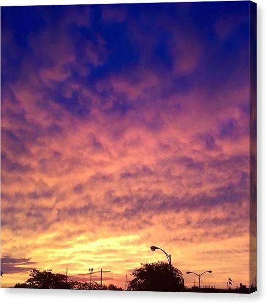 South Dakota Canvas Print - Rise And Shine by Britni Hemmer