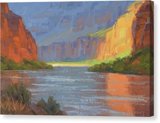 Canyon Canvas Print - Rise And Shine by Cody DeLong