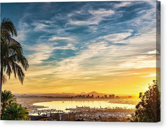 Canvas Print featuring the photograph Rise And Shine by Dan McGeorge