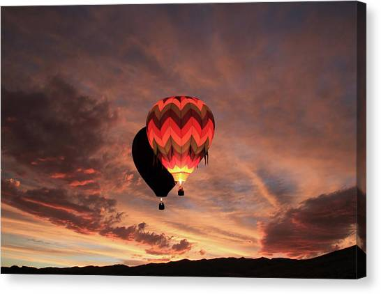 Rise And Shine Canvas Print by Donna Kennedy