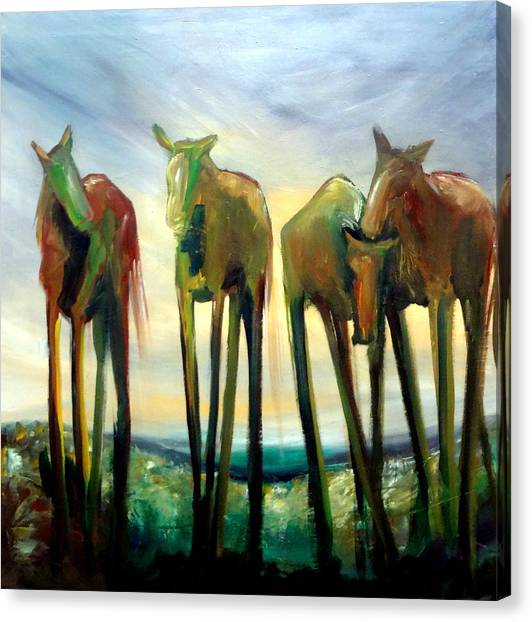 Rise Canvas Print