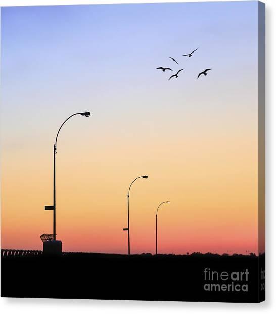 Sun Canvas Print - Rise Up by Evelina Kremsdorf