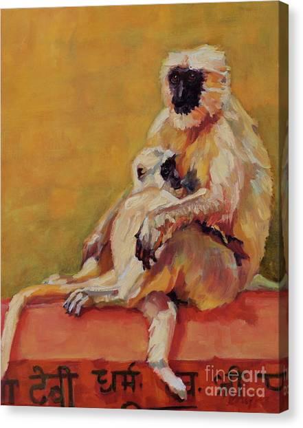 Rishekesh Canvas Print