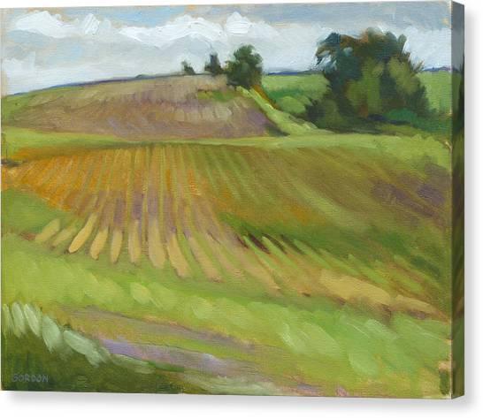 Canvas Print - Rising Fields by Kim Gordon