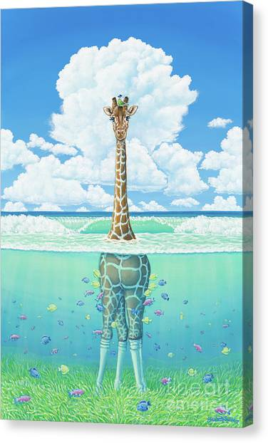Rising Sea Canvas Print