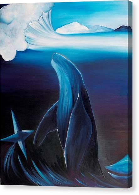 Rising Spirit Canvas Print by Ara  Elena