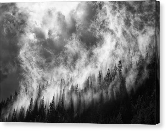 Idaho Canvas Print - Rising by Thomas Haney