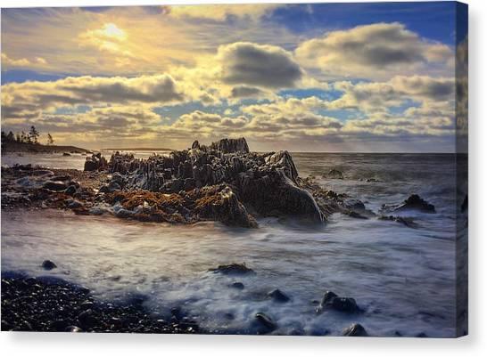 Nova Scotia Canvas Print - Rising Tide by Christine Sharp