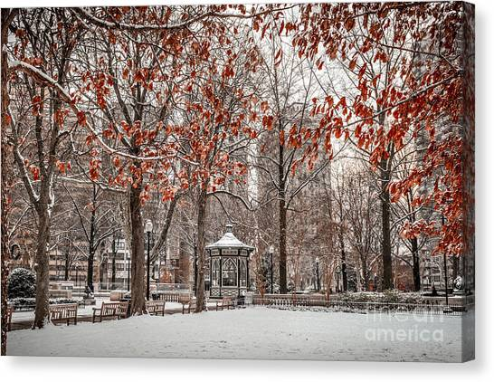 Rittenhouse Snowscape Canvas Print