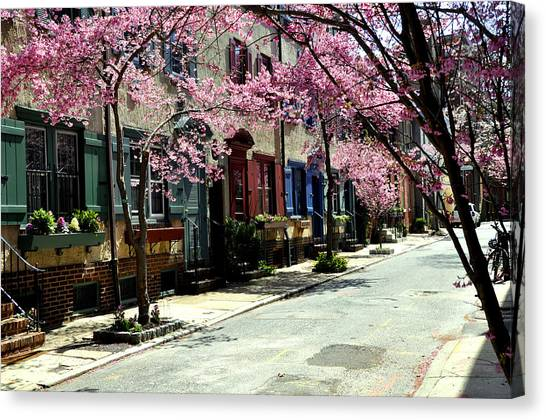 Rittenhouse Square Neighborhood Canvas Print