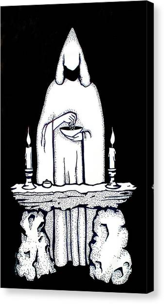 Ritual Canvas Print by Diana Blackwell
