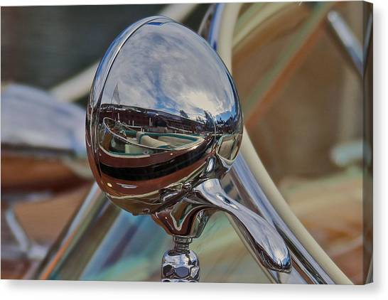 Riva Runabout Spotlight Canvas Print