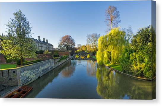 River Cam Canvas Print