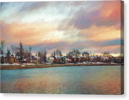 River Dream Canvas Print