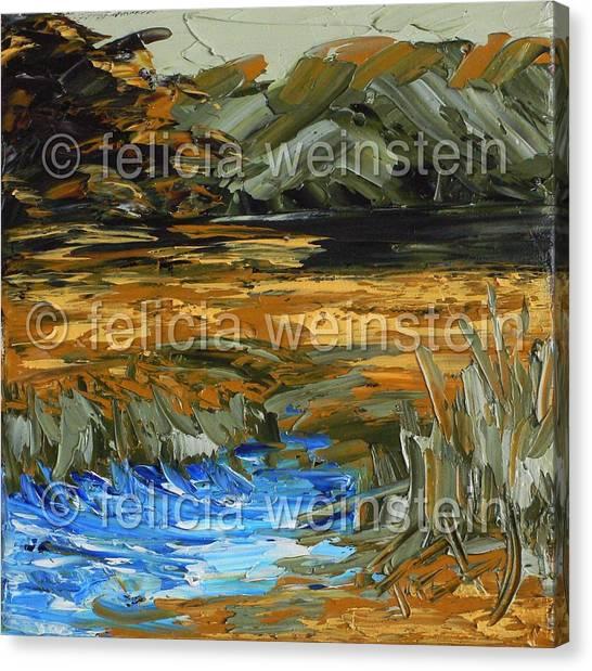 River Flow 1 Canvas Print