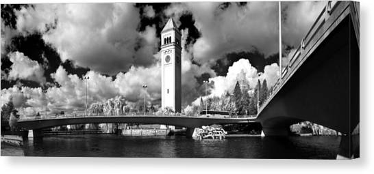 River Front Park Spokane Canvas Print