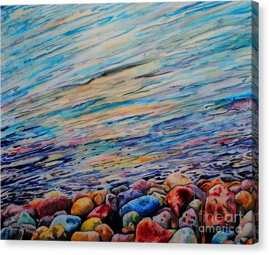 River Gems Canvas Print by Tracy Rose Moyers