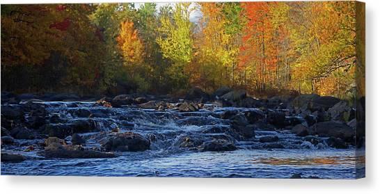 Rapid Canvas Print - River by Jerry LoFaro