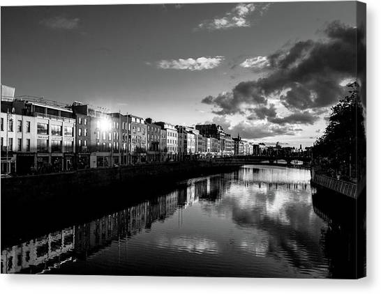 River Liffey Canvas Print