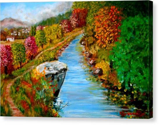 River Lousios  Canvas Print