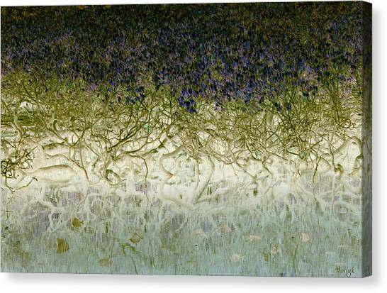 Mangrove Trees Canvas Print - River Of Life by Holly Kempe