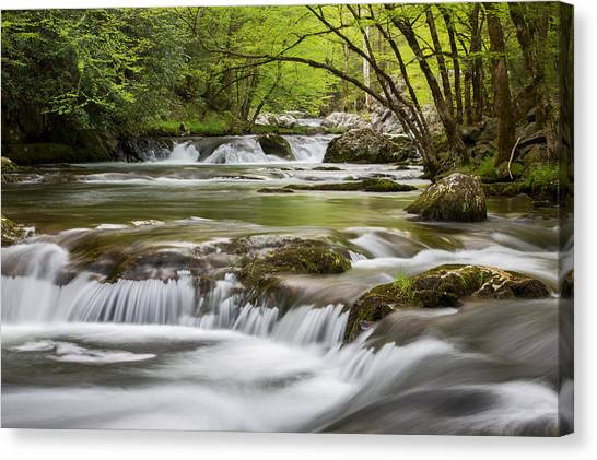 River Peace Canvas Print