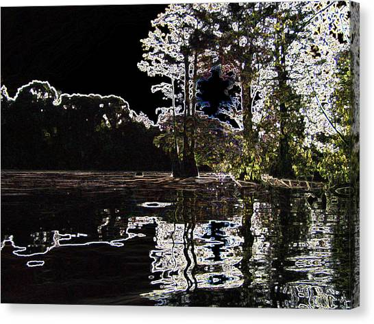 River Point Canvas Print