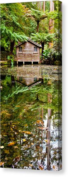 Featured Images Canvas Print - River Reflections by Az Jackson