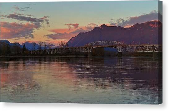 Fraser River, British Columbia Canvas Print