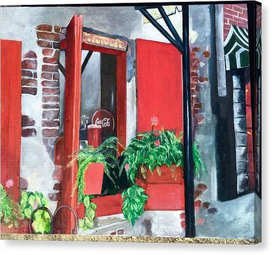 River Street Canvas Print