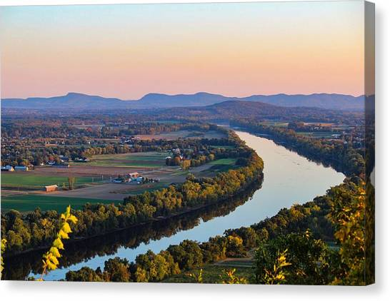 Connecticut River View  Canvas Print