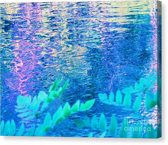 Distractions From The River Waters Canvas Print