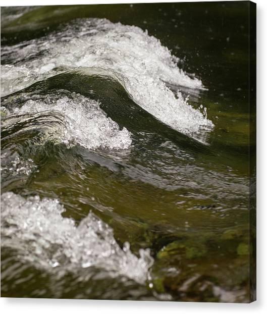 River Waves Canvas Print