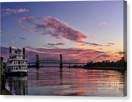 Cape Fear Riverboat Canvas Print