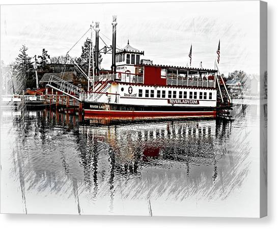 Riverlady.com Canvas Print
