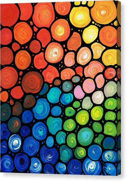 Buy Art Online Canvas Print - River's Edge by Sharon Cummings