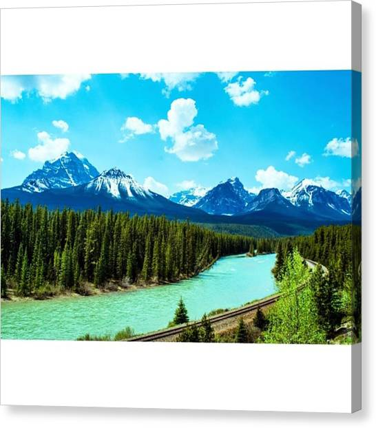 Scotty Canvas Print - Rivers Like This Flowing Everywhere In by Scotty Brown