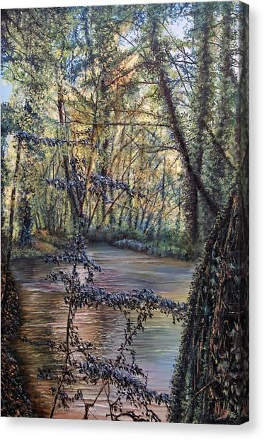Riverside Canvas Print