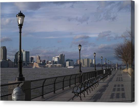 Riverside Park Nyc II Canvas Print