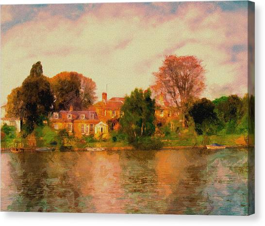 Riverview II Canvas Print
