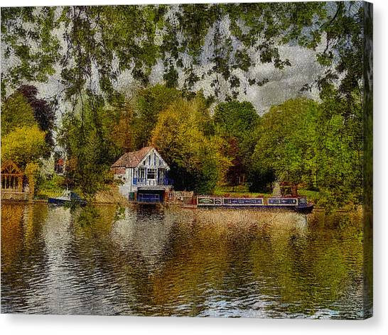 Riverview Vi Canvas Print