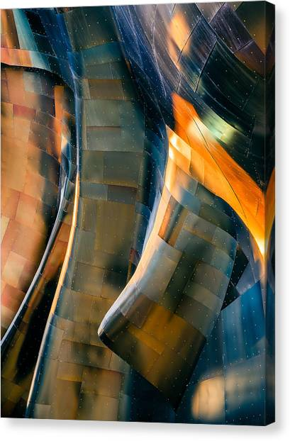 Metal Canvas Print - Riveting by Jill Maguire