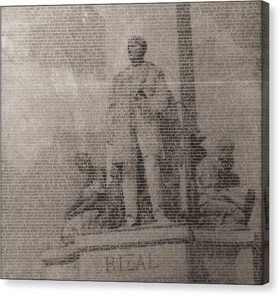 Rizal 1966-67- Full Yashicad Neg Canvas Print
