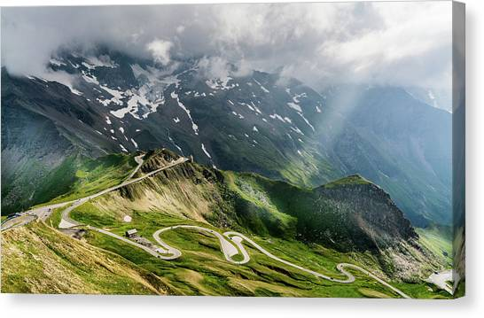 Road Austria Canvas Print