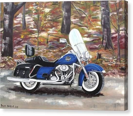 Road King Canvas Print